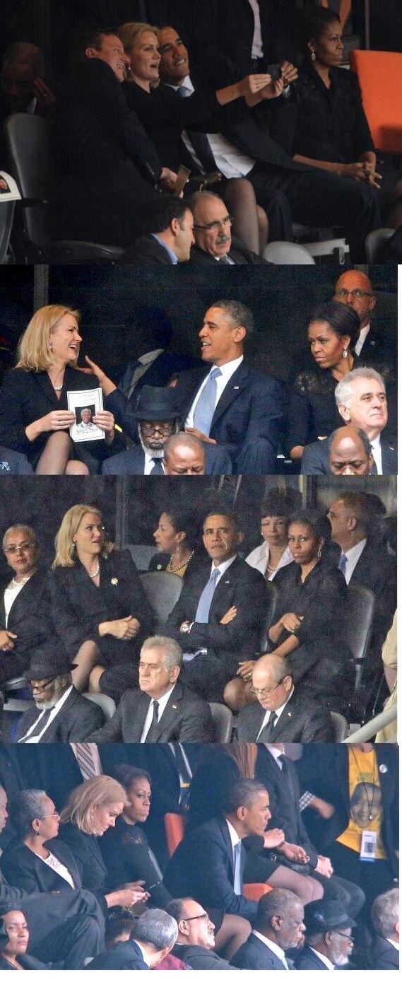 Acontece comigo, acontece com você, acontece com o Presidente dos Estados Unidos.