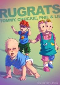 Incríveis versões adultas e deturpadas de vários personagens consagrados