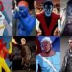 Personagens dos filmes e HQ's dos X-Men Lado-a-Lado
