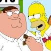 Veja 5 minutos do crossover entre Simpsons e Family Guy com nossas lindas legendas