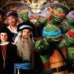 Leonardo, Rafael, Michelangelo e Donatello: Tartarugas Ninjas vs Gênios Renascentistas