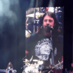 "Foo Fighters cantando ""Ole ole ole, Chile, Chile"""