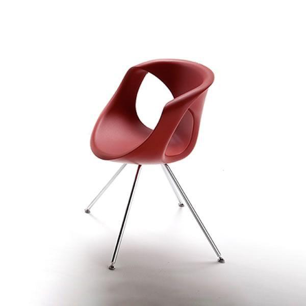 Up Chair Designer Stuhl Tonon, aus Metall und Polyurethan, in - designer stuehle metall baumstamm