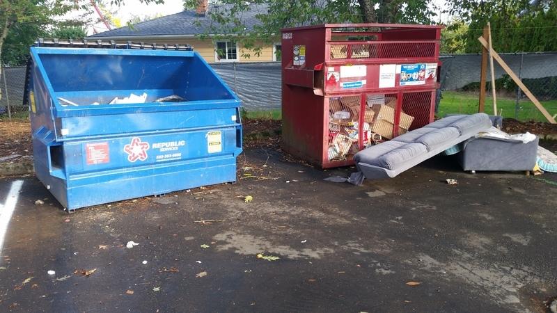 Litter And Trash Issue 2958180 Salem Salem Or