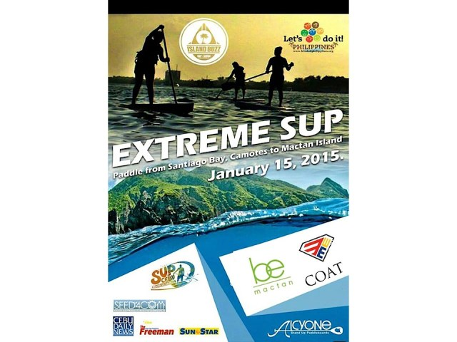 EXTREME SUP FOR THE ENVIRONMENT !