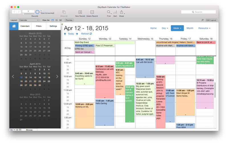 Add New Calendar Updates How To Send Meeting Update To One New Attendee Only In Seedcode Calendars Templates And Apps For Filemaker Pro