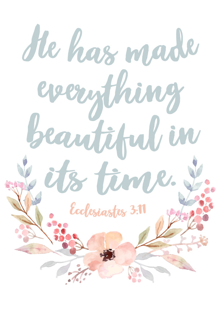 Free Desktop Wallpaper Scripture Fall Inspiring He Has Made Everything Beautiful In It S Time