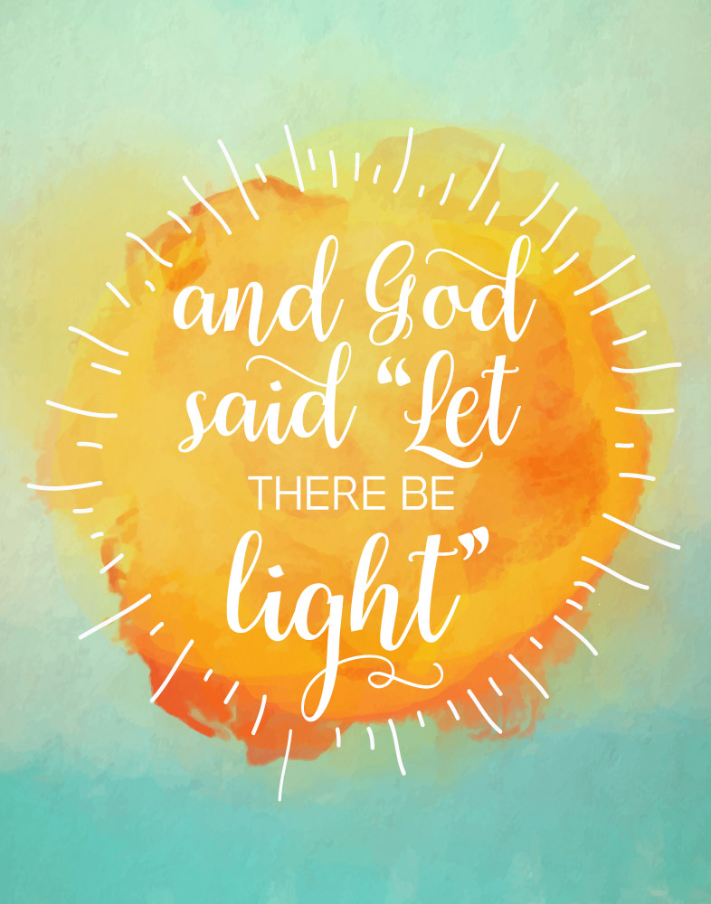 Encouraging Quotes Wallpaper Free Download God Said Quot Let There Be Light Quot Genesis 1 3