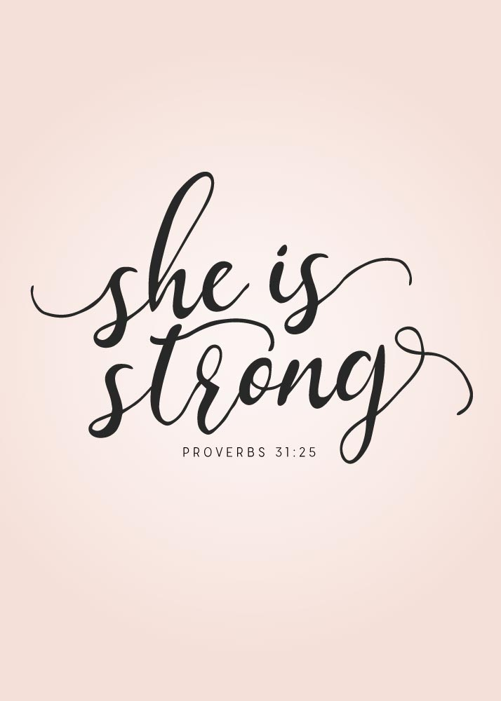 Lds Quote Wallpaper She Is Strong Proverbs 31 25 Seeds Of Faith