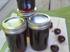 Sweet Cherry Ginger Jam