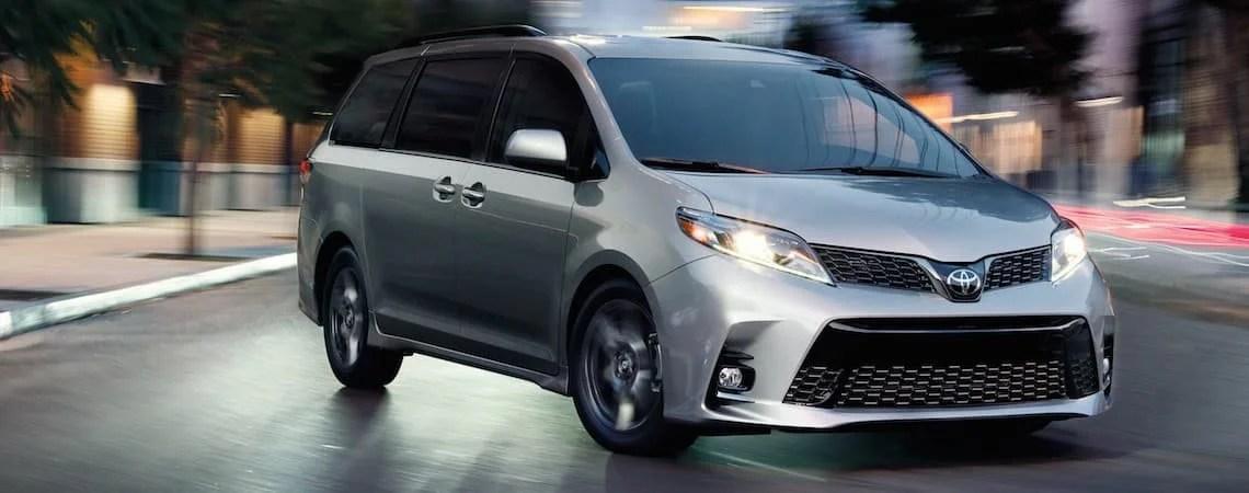 2019 Toyota Sienna Trims L vs LE vs SE vs XLE vs Limited Seeger