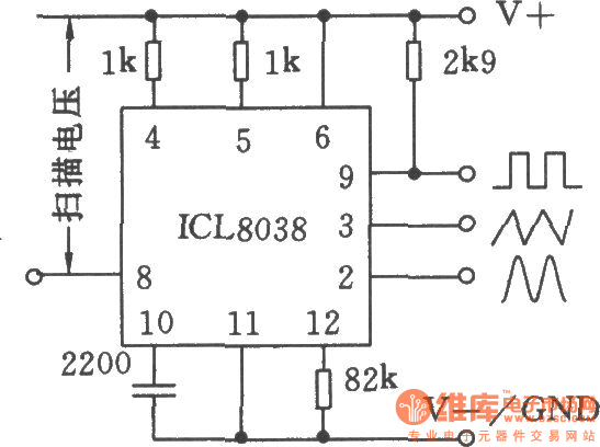 function generator with icl8038