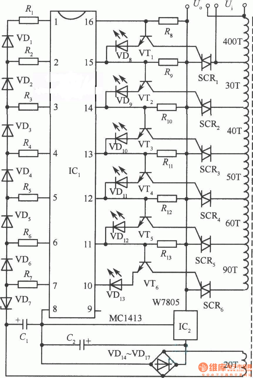 automatic voltage regulator avr circuit homemade circuit projects