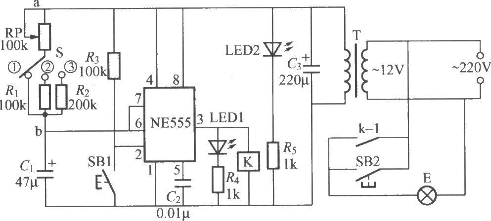 dark room exposure timing light circuit1 controlcircuit circuit
