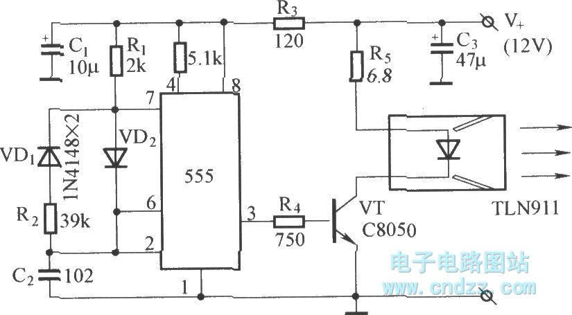 range infrared remote circuit diagram automotivecircuit circuit