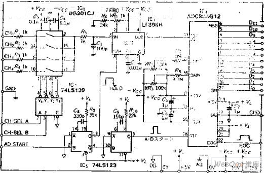 bit ad converter circuit adconverter addaconvertercircuit