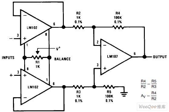 differential amplifier circuit diagram differential amplifier