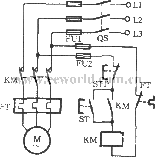 Thermal relay overload protection circuit - Relay_Control