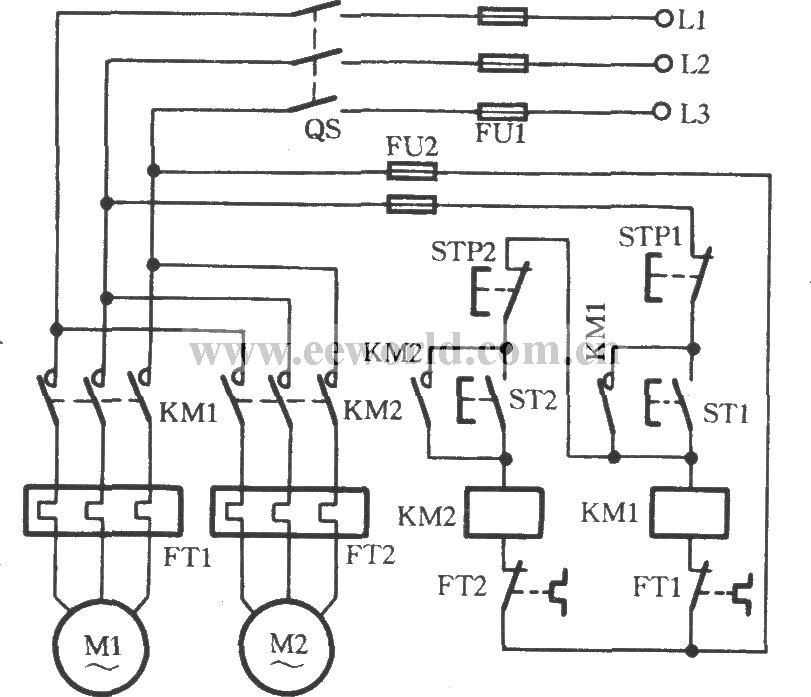 motor sequence start diagram