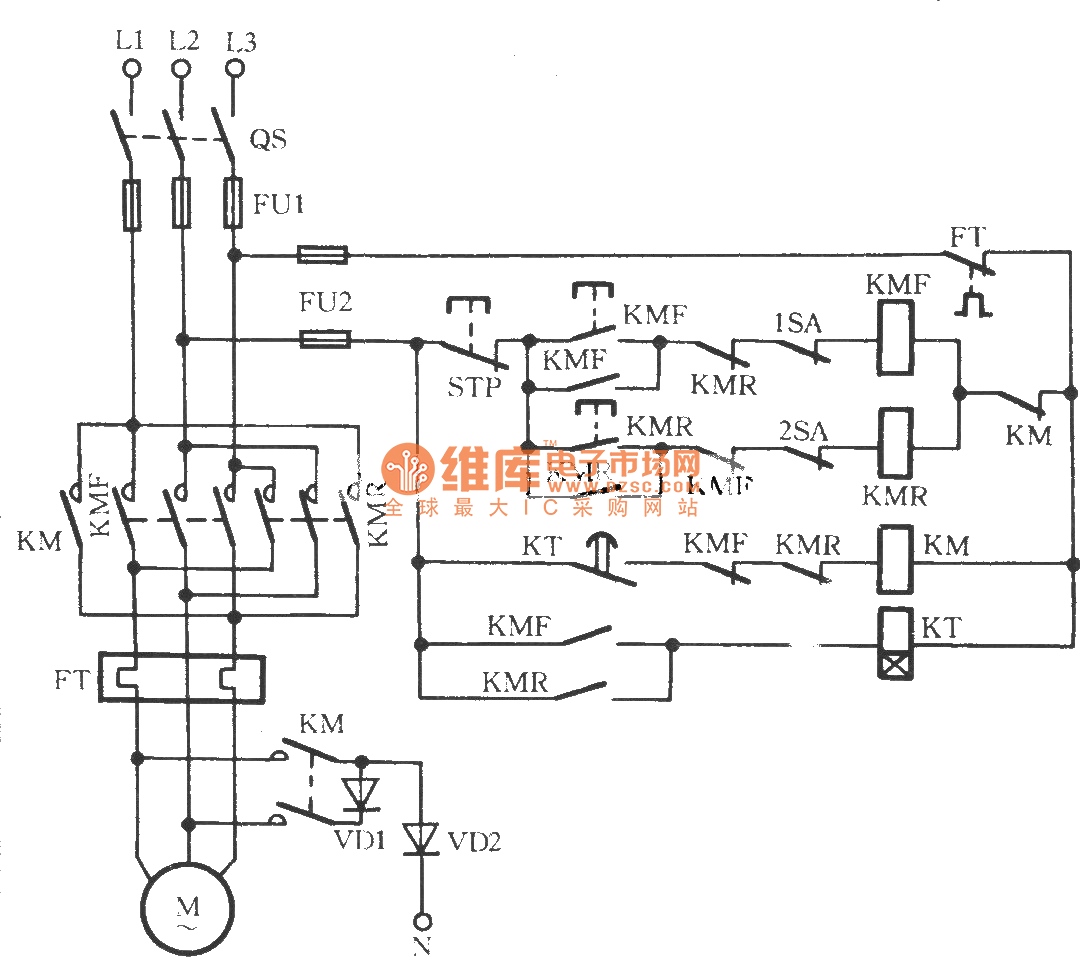 three phase power wiring diagram