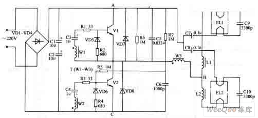 electronic ballast circuit diagram for fluoresent lamp electrical