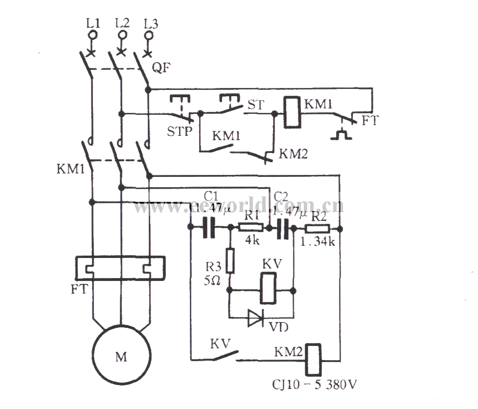 circuit and open phase protection circuit diagram protectioncircuit
