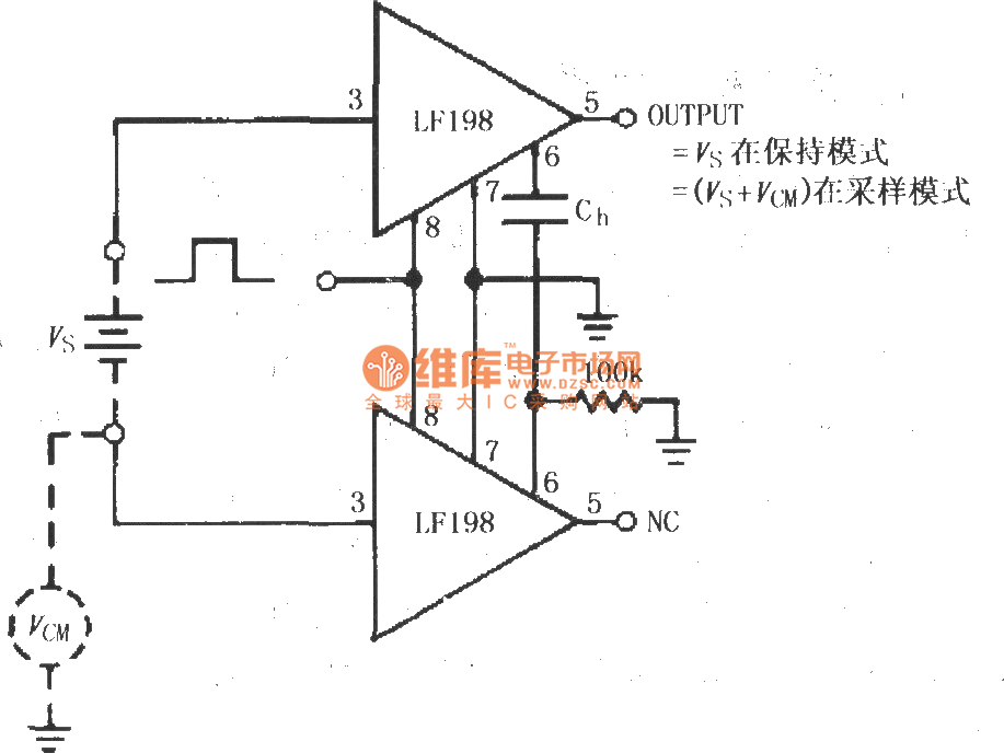 differential input differential output amplifier circuit diagram