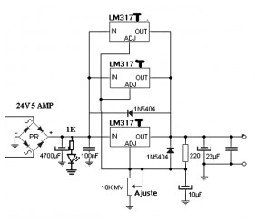 circuit schematic together with lm317 current regulator circuit