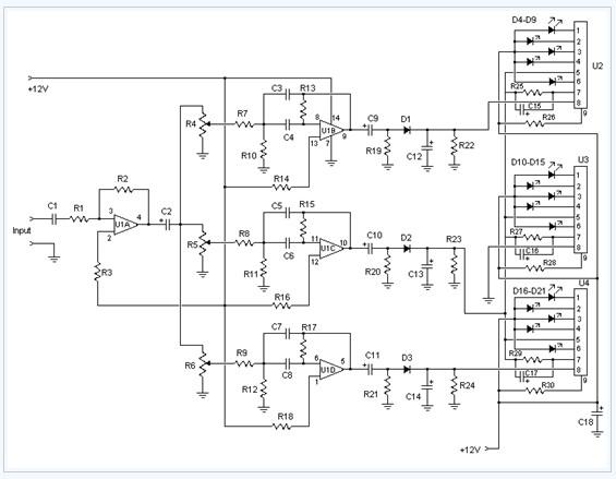 spectrum analyzer circuit