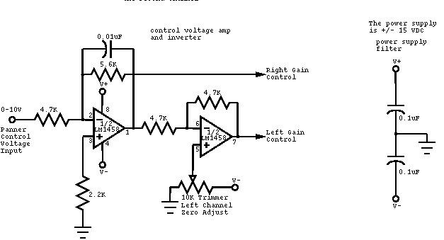 voltage controlled volume control circuit