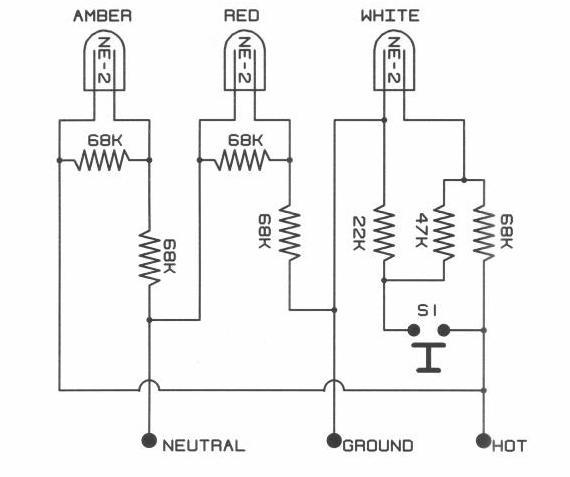 ground fault indicator wiring diagram