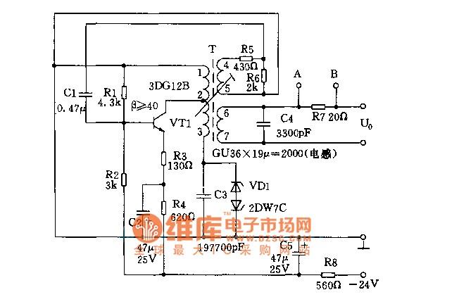 8khz signal generator circuits signalprocessing circuit diagram