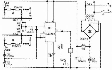 Time Control - Control Circuit - Circuit Diagram - SeekIC