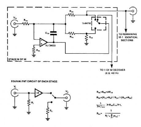 Audio input selector circuit (4416 CMOS) - Audio_Circuit - Circuit