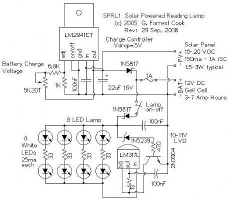 12v Lamp Current Indicator Ledandlightcircuit Circuit Diagram car