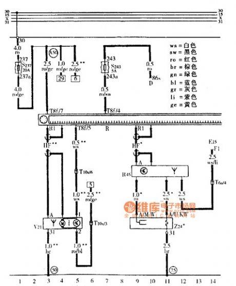 subwoofer circuit diagram 1 electricalequipmentcircuit circuit