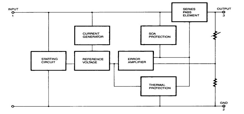 Block Diagram 7805 Wiring Diagram