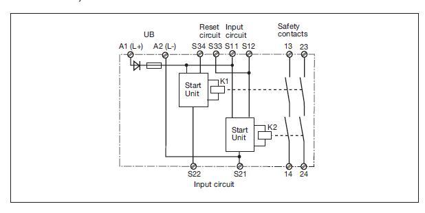 pilz relay wiring diagram