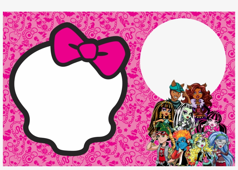 Invitations And Party Free Printables - Monster High Invitation