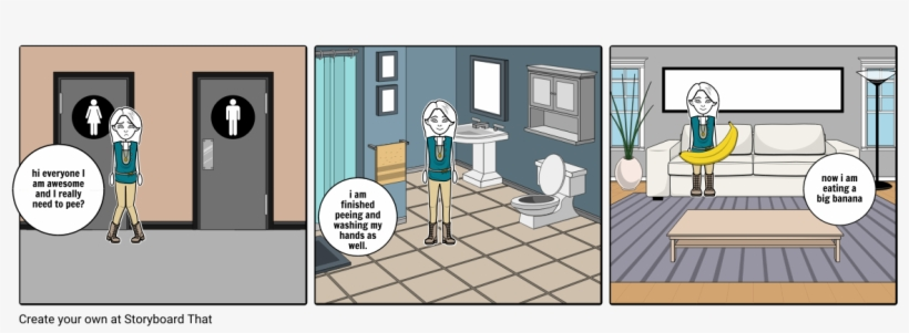Pee - Autonomy Vs Shame And Doubt Cartoon PNG Image Transparent