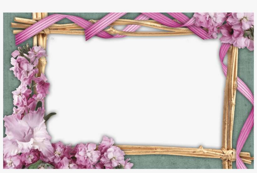 Red Frame Png Red Rose Flowers Frames Png Free Pictures - Flower