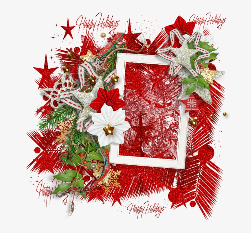 Christmas Frame Element Tagger Size 800 X - Transparent Christmas
