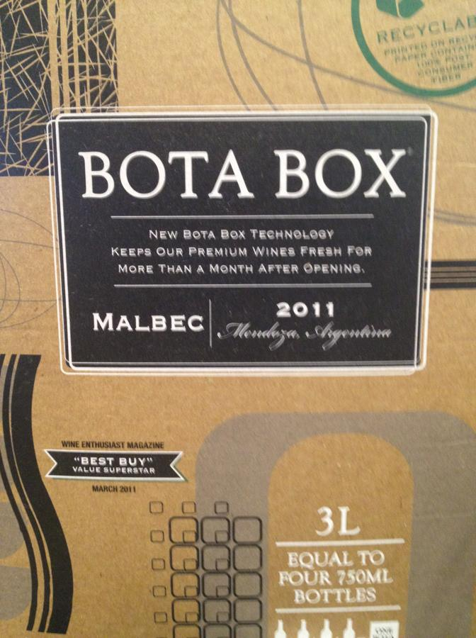 Bota Box Malbec Cocktail Recipe With Drink Picture