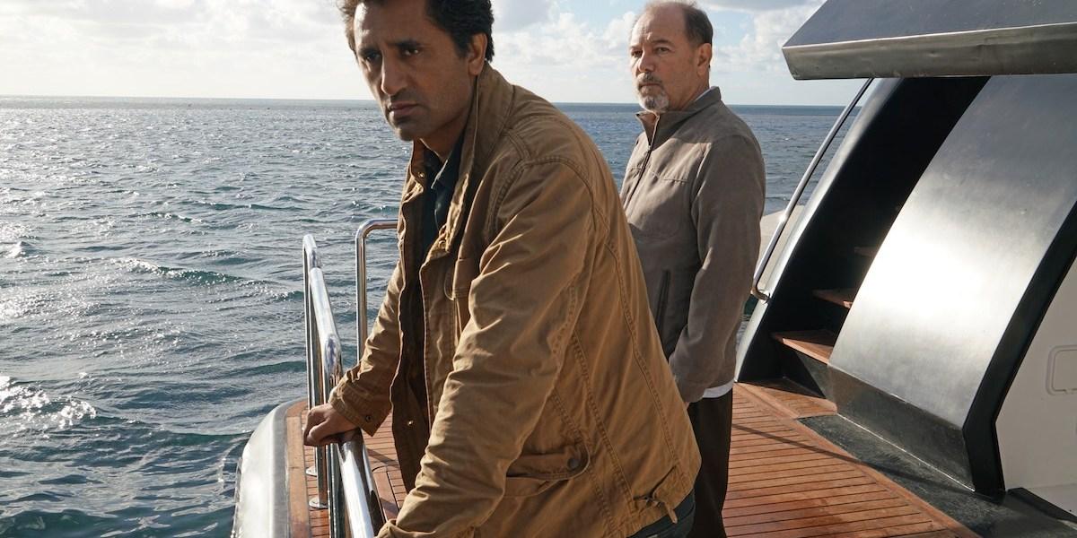 Cliff Curtis as Travis and Ruben Blades as Daniel Salazar - Fear the Walking Dead _ Season 2, First Look - Photo Credit: Richard Foreman/AMC