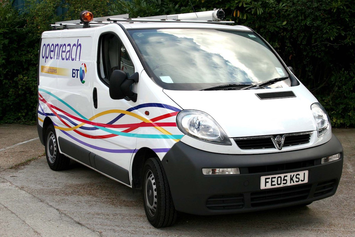 The unveiling of Openreach, a new multi-billion pound business responsible for the nationwide local BT network.