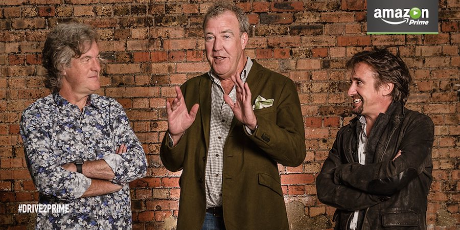 How to watch The Grand Tour - Jeremy Clarkson, Richard Hammond and James May's new Amazon show