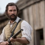 Newt (Matthew McConaughey) confronts Lt. Barbour at Mary's house. Image: Murray Close / STX Productions