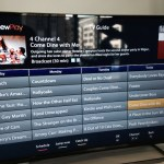 The Freeview Play catch-up menu