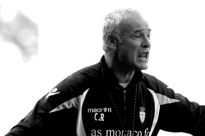 "Monaco Manager Claudio Ranieri. AS Monaco feature shot ""Exclusively for Issue 7 of SEEN Sport Magazine at the Toubie training ground, Monaco."