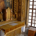 Tenth Station: Interior of Chapel of the Franks (Seetheholyland.net)